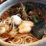 かんざん亭 - 海藻そば