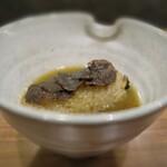ワインと炭火串焼 銀座 荻 - スープを入れてお茶漬けにしました(*^^*)