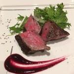 山荘 わらび野 - 料理写真:メインのお肉