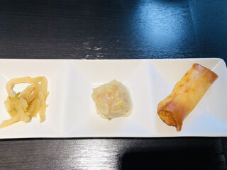 香水 -xiang shui- - 搾菜・焼売・春巻