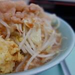 らーめん 蓮 - 料理写真:ラーメン(¥750税込みアブラ、カラメ、ショウガ増し