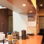 餃子の店 味の横綱 - カウンター