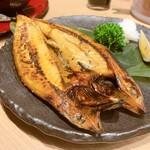 生け簀の甲羅 - 鯖塩焼き