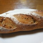 鈴家 - レーズン、ドライオレンジ入りフランスパン