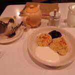 cafe doudou - スコーンセット
