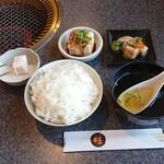 焼肉亭 桂 - ランチのセット