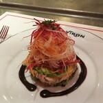 Brasserie VIRON - ずわい蟹とたらば蟹のサラダ