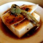 honkonkaisenryourikishina - 真魚鰹と豆腐のブラックビーンズ(豆鼓(トウチ))蒸し
