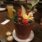 オレンチ - お通し:野菜盛り合わせ(2012/3/23)