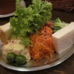 オレンチ - 冷前菜3種盛り(2012/3/23)