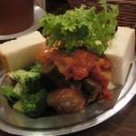 オレンチ - 冷前菜3種盛りを後ろから!(2012/3/23)
