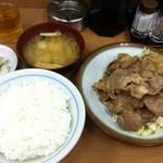 12196841 - 豚肉生姜焼き定食