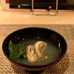 kiwa - 真牡蠣と女池菜の吸い物
