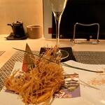 kiwa - 南蛮海老カダイフ巻き揚げ