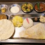 南インド家庭料理 カルナータカー - ランチのAセット
