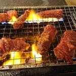 松阪味噌焼 ホルモン酒場 - ハラミ焼きます
