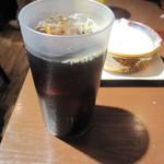 Grillマッシュ - スタミナコンボに付くドリンク(アイスコーヒー)