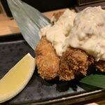 紀州麺処 誉 - 牡蠣フライ