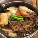 石蔵 - すき焼き(国産牛のすきやき定食)