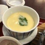 石蔵 - 茶碗蒸し(国産牛のすきやき定食)