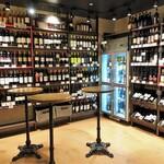 リカーショップ グランセルクル - 内観写真:店内でも飲めます♡