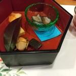 日本料理 空海 - すっぽん酒・季節の前菜