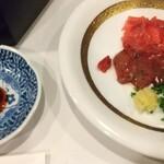 日本料理 空海 - すっぽん刺身・肝刺