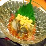 日本料理 空海 - すっぽん卵・皮刺