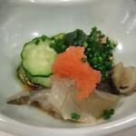 日本料理 空海 - すっぽん酢の物