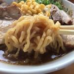 ラーメン峠 - 自家製麺★中太縮れのやわ麺をリフショ