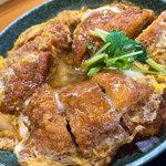浜乃家 - うーん。レベル高いカツ丼。美味しかったです!