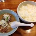 12198016 - 牛汁(小)ライス(中) 840円也(2012.3)