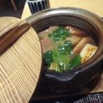 越後長岡 小嶋屋 - 2012/3  鴨汁そばの鴨汁