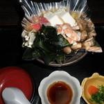 江戸前きよ寿司 - 若布(わかめ)のしゃぶしゃぶ