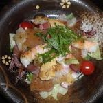 江戸前きよ寿司 - ミックスカルパッチョ