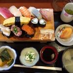 信国鮨 - 料理写真:上寿司定食