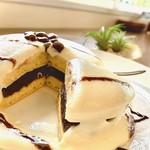 ちゅら海カフェ かふぅ - NEW‼ドラレアパンケーキ