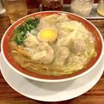 121987553 - 広州雲呑麺 塩(814円)