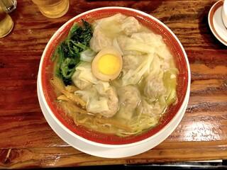 広州市場 西新宿店 - 広州雲呑麺 塩(814円)