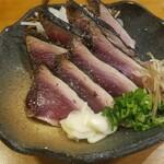 Yoshizakishokudou - カツオ塩たたき