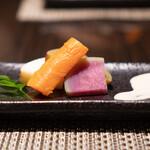 松阪牛 完全個室 肉割烹 WAGYU+  - 産直蒸し野菜盛り