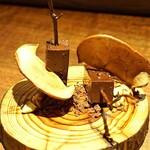 アカ - お茶菓子