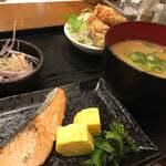 スーパードライ - 料理写真:・豚汁&お魚定食