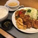 喜神菜館 - 菜館定食♪ 1.230円