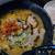 らーめん獅子王 - みそカリーチーズ麺(950円)温玉ライス付き