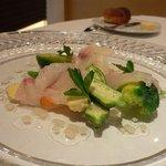 クレオール - Lunch(本日の前菜-鯛)