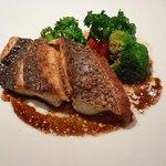 クレオール - Lunch(本日の肉料理-真鯛のポアレバルサミコ)