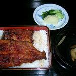 将棋屋 - 料理写真:うな重定食