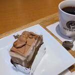 トップス キーズカフェ - ♦︎Cake Set 770円(税込み)
