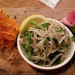 大衆ビストロ ジル - 前菜3種の盛り合わせ